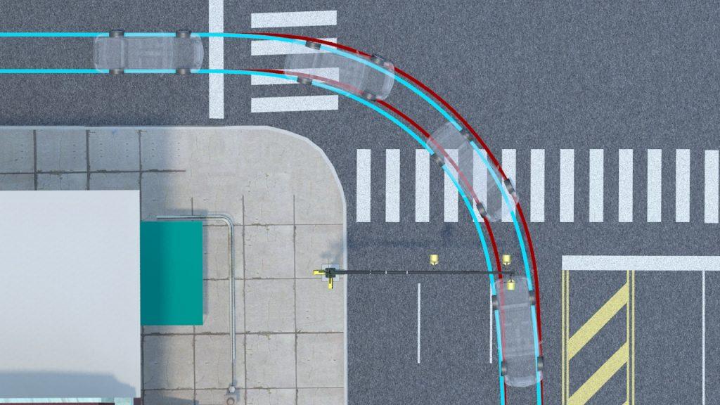 Engineering Animation Vehicle Path