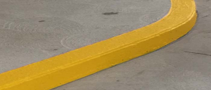 yellow-painted-curb