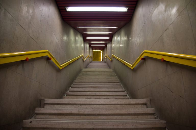 slip-trip-fall-subway-stairs