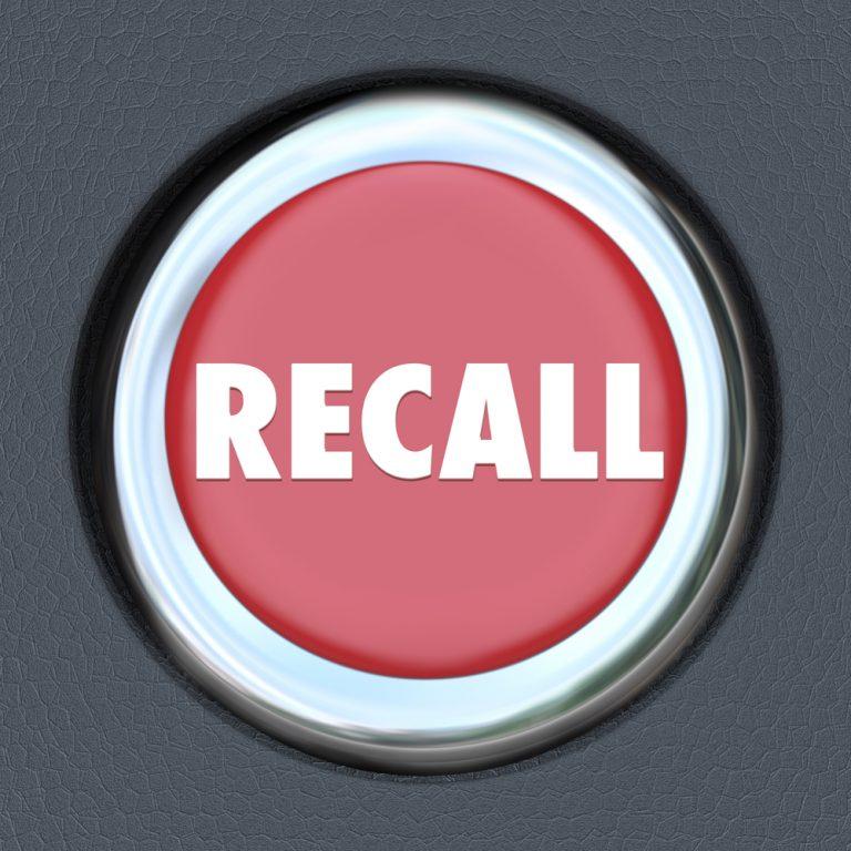 NTSA Recall