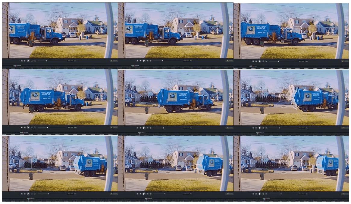 Surveillance Trash Truck